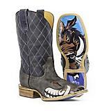 Tin Haul Mens Not Boaring Square Toe Boots