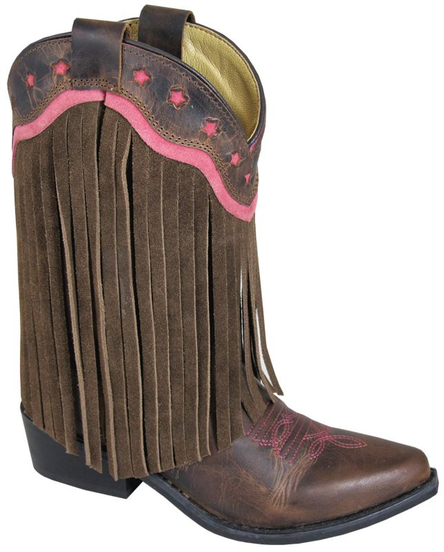 Smoky Mountain Kids Helena Pointed Toe Boots