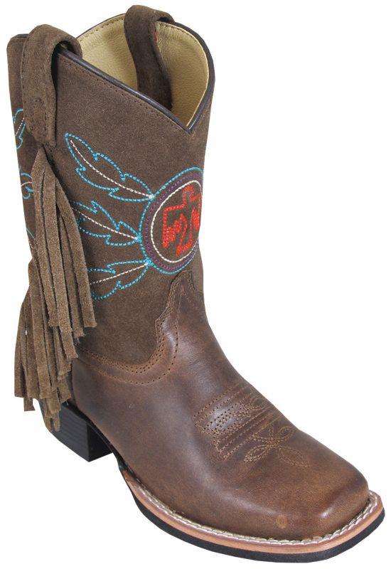 Smoky Mountain Kids Thunderbird Sq Toe Boots