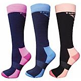 TuffRider Winter Neon Socks 3 Pack