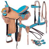Tough-1 Gypsy Spirit 5-Piece Saddle Package