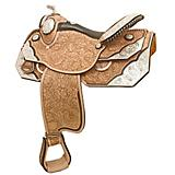 Tex Tan Silver Champion Show Saddle 16in