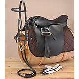 Liberty Lane Suede Seat Show Saddle Pkg