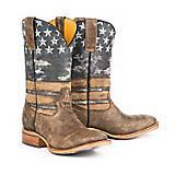 Tin Haul Mens Freedom Square Toe Boots