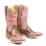 Tin Haul Ladies Heart Square Toe Boots