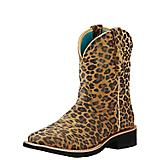 Ariat Ladies Fatbaby Wild Rosie Sq Boots