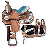 Silver Royal Desert Hope Mini Saddle Package