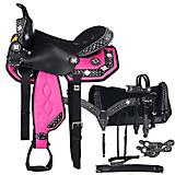 Tough-1 Crystal 7-Piece Trail Saddle Package