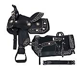 Tough-1 Spur Rowel 5-Piece Pony Saddle Package