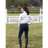 Huntley Ladies Navy Knee Patch Riding Pant