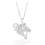 Kelly Herd Horse Head Necklace