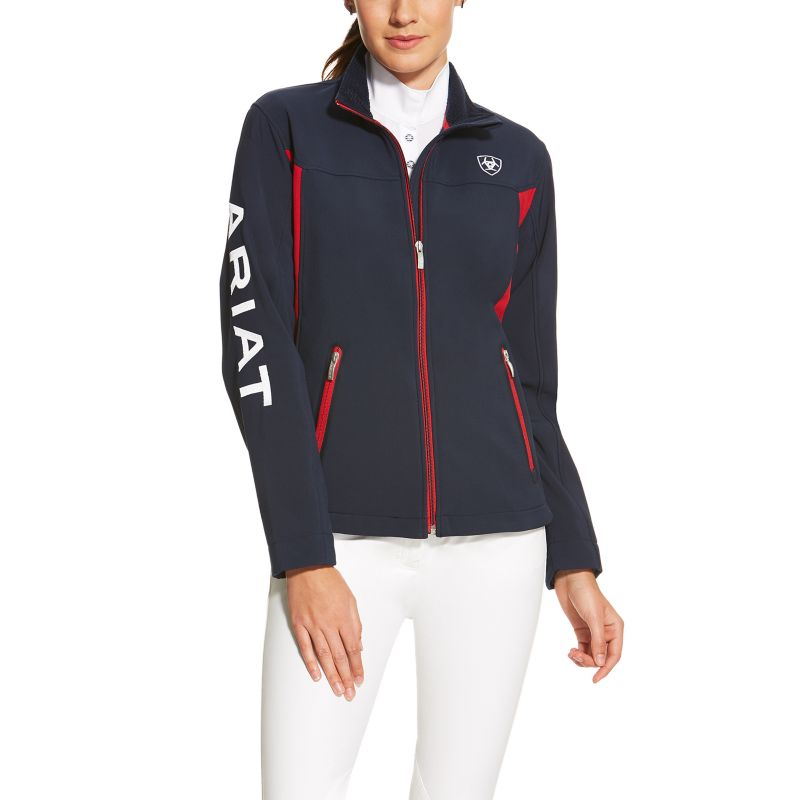 Ariat Womens New Team Softshell Charcoal