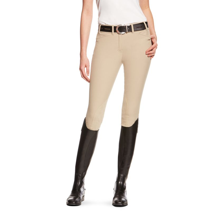 Ariat Womens Heritage Elite KP Breech Gray