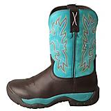 Twisted X Ladies All Around Turq Boots