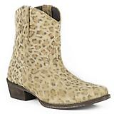 Roper Ladies Cheetah Snip Toe Boots