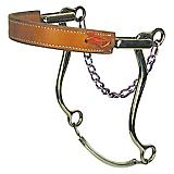 Reinsman Flat Leather Nose Mechanical Hackamore