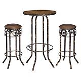 Pub Table & Stool 3pc Set