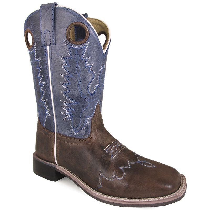 Smoky Mountain Childs Delta Square Toe Boots
