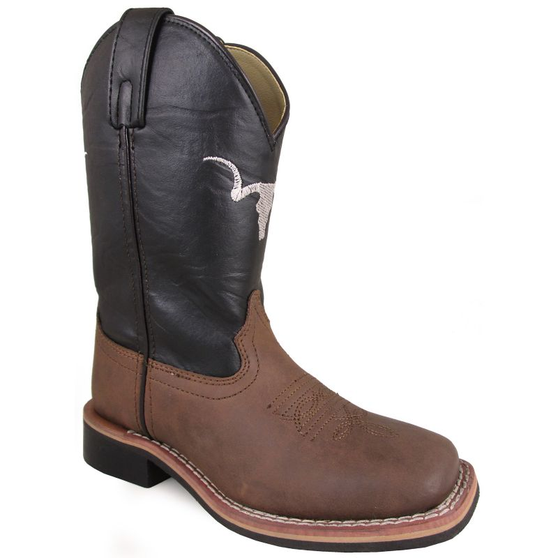 Smoky Mountain Youth The Bull Square Toe Boots