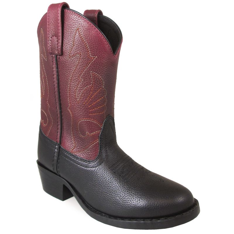 Smoky Mountain Youth Cisco Square Toe Boots