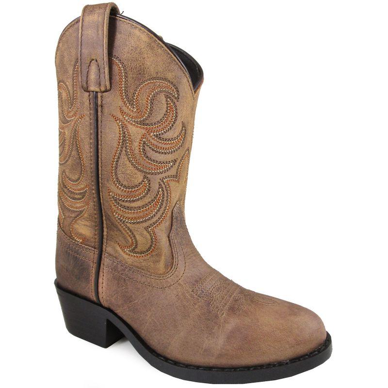 Smoky Mountain Youth Otis Square Toe Boots
