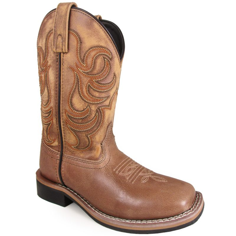 Smoky Mountain Youth Leroy Square Toe Boots