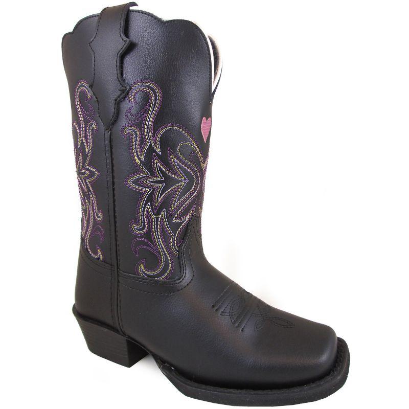 Smoky Mountain Youth Rockin Heart Square Toe Boots