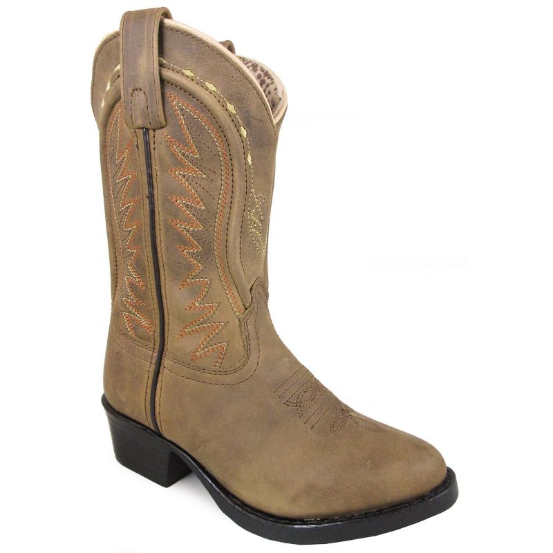 Smoky Mountain Youth Sienna Square Toe Boots