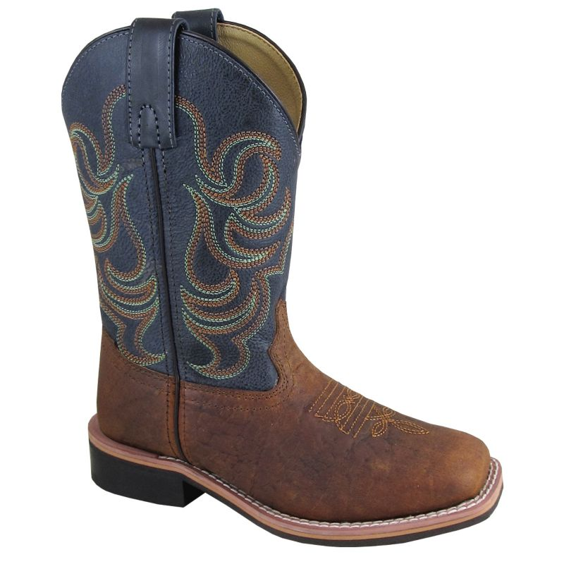 Smoky Mountain Youth Jesse Bull Hyde Boots