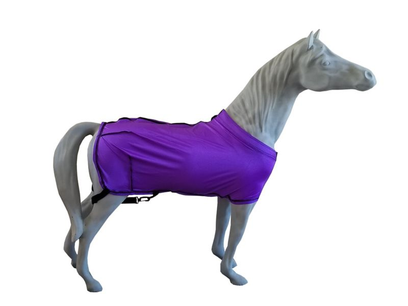 Ozark Mini/Pony Lycra Fitted Sheet Lg Mini Purple