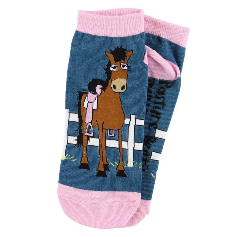 Lazy One Womens Slipper Socks Pasture Bedtime