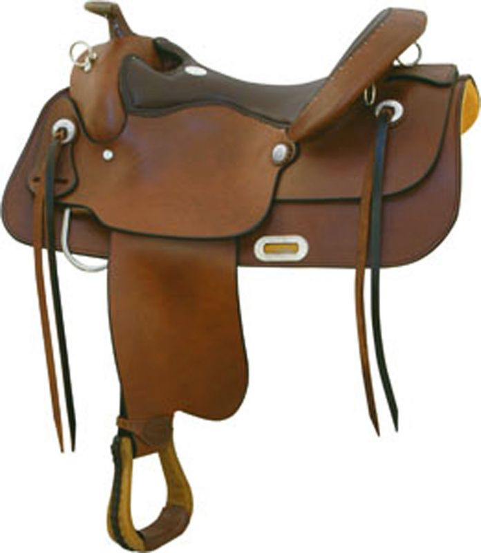 Billy Cook Saddlery Draft Trail Saddle 16In Pecan