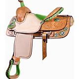 Billy Cook Saddlery Combs Ostrich Saddle
