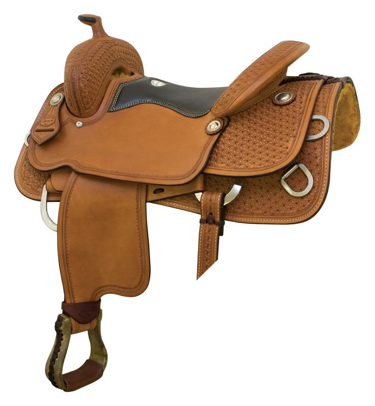Saddlesmith Mesquite Trainer Saddle 16.5In Pecan