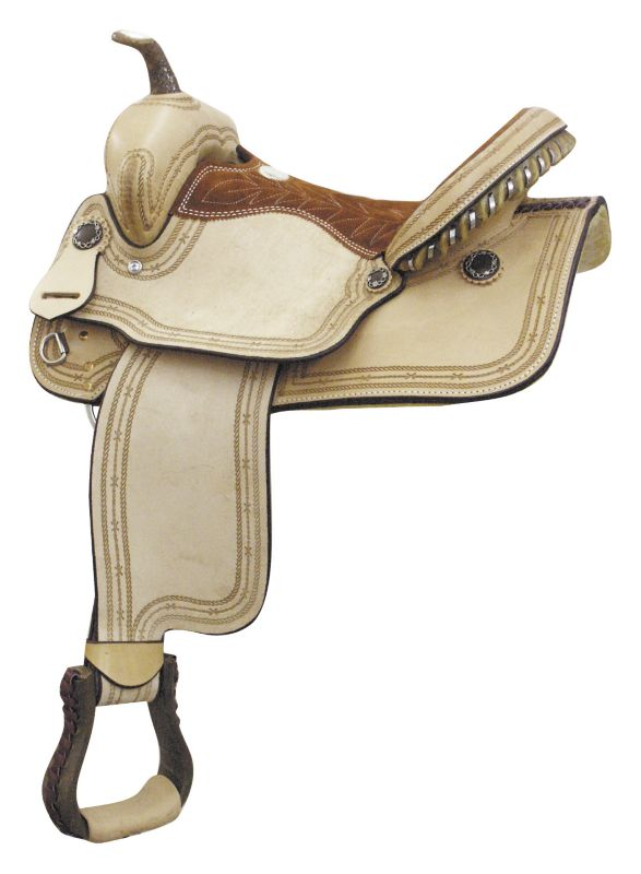 Billy Cook Saddlery Combs Barbwire Saddle