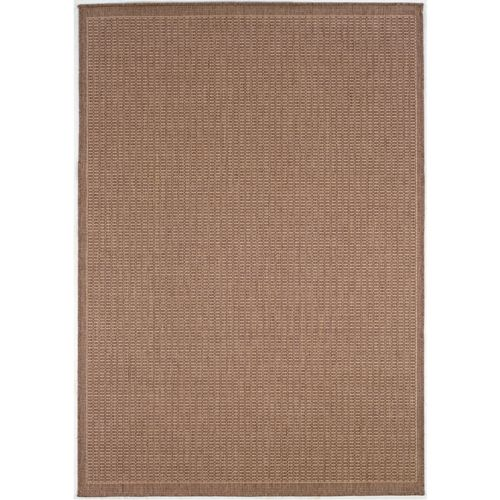 Recife Rug Saddle Stitch Cocoa Rug 102in Rnd