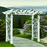 Fairfield Grande Wide Vinyl Arbor