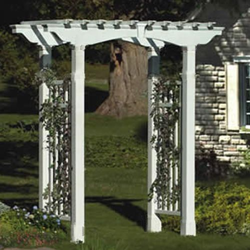 Newport Arbor-White With Trim Kit
