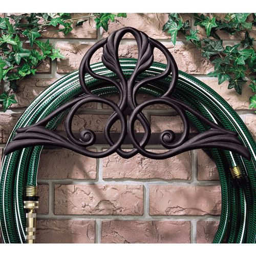 Black Victorian Hose Holder
