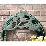 Verdigris Chickadee Hose Holder