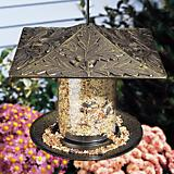 Whitehall Oakleaf Tube Bird Feeder