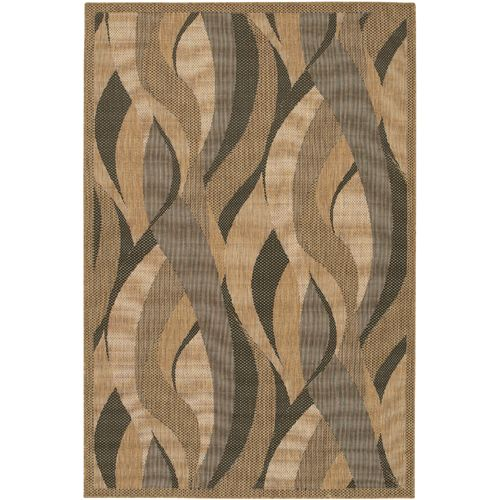 Recife Rug Seagrass Natural-Black Rug 63inx90in