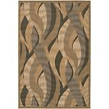 Recife Rug Seagrass Natural-Black