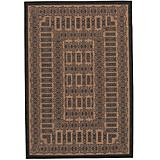 Recife Rug Tamworth Cocoa-Black