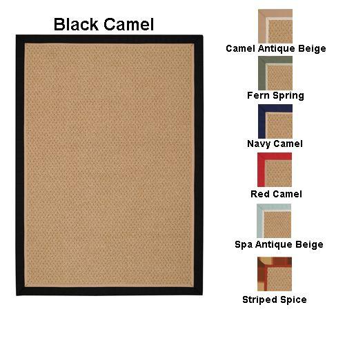 Capel Rugs Castaway Rug 7x9 Stripe Spice