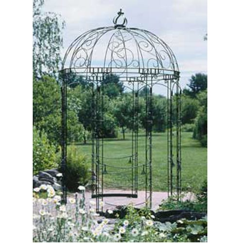 Achla Designs Rhapsody Pavillion Iron Gazebo