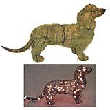 Dachshund Topiary 13in
