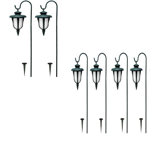Mirage Hanging Solar Light Set 4pc