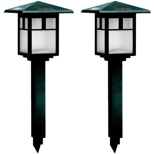 Cypress Solar Light Set 2pc