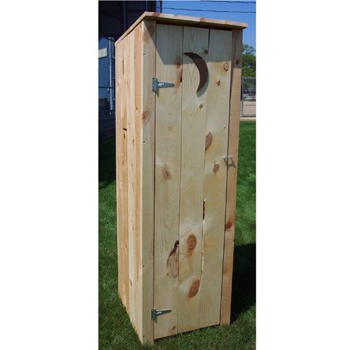 Prairie Leisure Design Outhouse Storage Shed